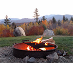 Autumn Campfire - New Hampshire Campground Owner's Association