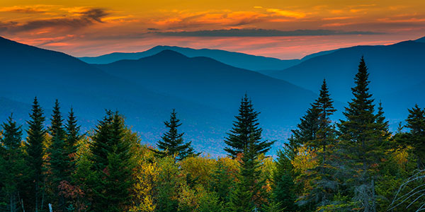 Welcome To Visit New England White Mountains New