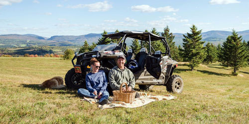 ATV Picnic 500x250 - Bear Rock Adventures - Pittsburg, NH