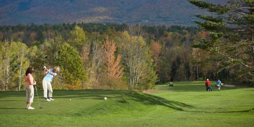 Teeing Off - Mountain View Grand Resort & Spa - Whitefield, NH