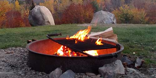 Fire Pit New Hampshire Campground Owners Association