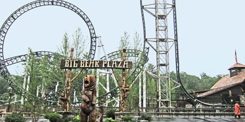 Big Bear Coaster 500x250 - Canobie Lake Park - Salem, NH