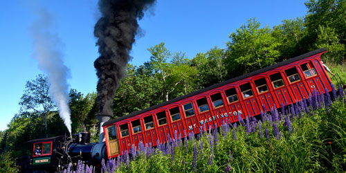 Rollin' Down 500x250 - Mount Washington Cog Railway - Bretton Woods, NH