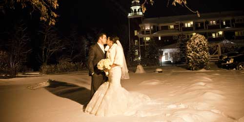 Winter Wedding - Mill Falls at the Lake - Meredith, NH