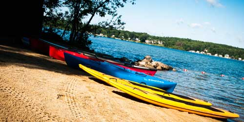 Kayaks Ashore - Margate Resort on Winnipesaukee - Laconia, NH