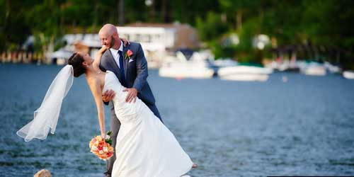 Wedding Dip - Margate Resort on Winnipesaukee - Laconia, NH