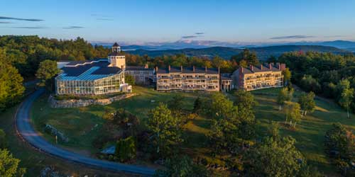 Steele Hill Resorts - Aerial - Sanbornton NH