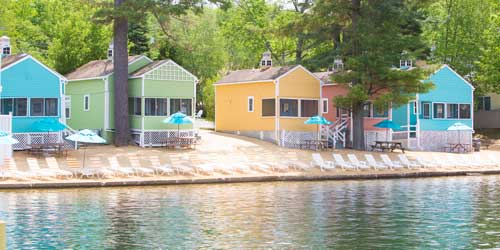 Naswa Resort Cabins and Cottages Laconia NH