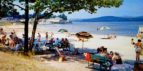 Weirs Beach in Laconia NH