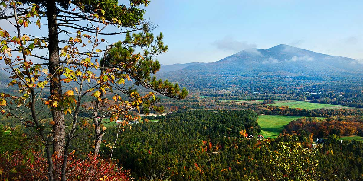 Panorama of North Conway NH Division of Travel and Tourism Development