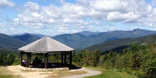 White Mountains Attractions Overlook North Woodstock NH