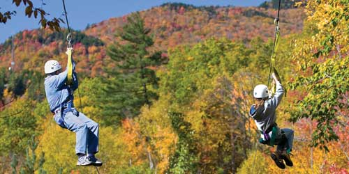 White Mountains Attractions Zip Line North Woodstock NH