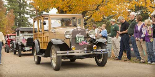 Antique cars at Sandwich Fair-credit-NH Division of Travel and Tourism Development