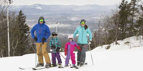 Family ski trip in New Hampshire-credit-NH Division of Travel and Tourism Development