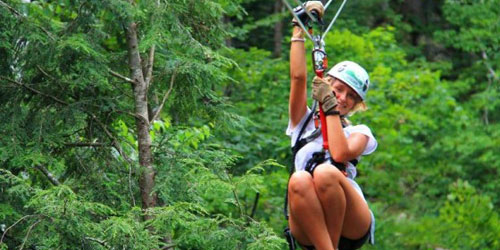 Zip Line - Morningside Flight Park - Charlestown, NH
