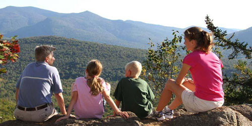 Family Hike - Waterville Valley Resort - Waterville Valley, NH