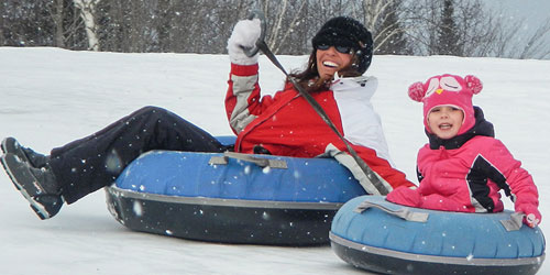 Snow Tubing - Great Glen Trails - Gorham, NH
