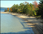 Ellacoya State Park at Lake Winnipesaukee