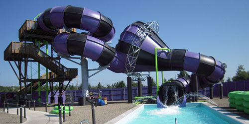 Big Waterslide - Water Country - Portsmouth, NH