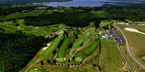 Aerial View - Pease Golf Course - Portsmouth, NH