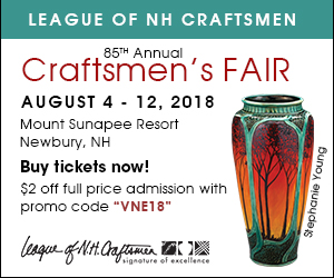 League of New Hampshire Craftsmen Fair 2018 - August 4-12 at Mt. Sunapee Resort in Newbury, NH - Click here to get your tickets today!
