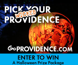 Go Providence, the Creative Capital, for your Halloween Weekend Wherever - visit goprovidence.com for more info!