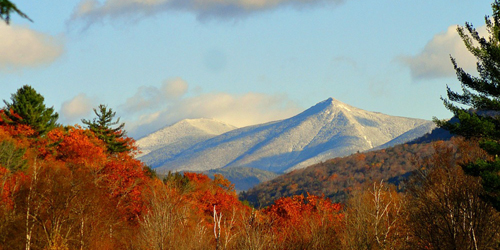 Scenic Fall View - White Mountains, NH