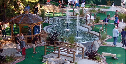 MiniGolf Course - Chuckster's Family Fun Park - Alton Bay, NH