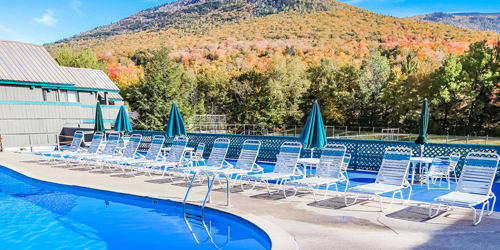 View from the Pool - Village at Loon Mountain - Lincoln, NH