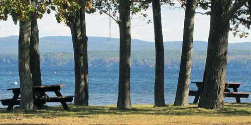 lakes region scenic drive tours