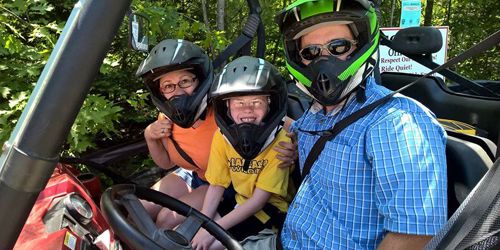 Family Ride - Northeast AVT & Snowmobile - Gorham, NH