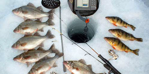 ICE FISHING IN NH