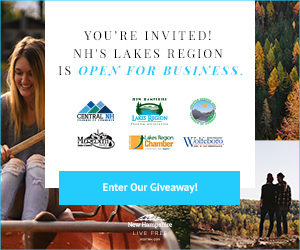 You're Invited - New Hampshire's Lakes Region is Open For Business! Click here for more info.