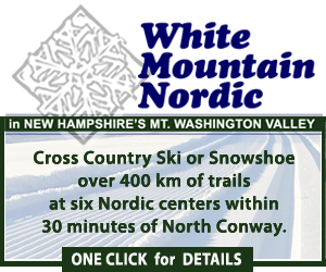 Visit White Mountain Nordic - A collection of six cross-country skiing centers in New Hampshire's White Mountains - Over 400km of nordic skiing!