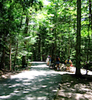 Franconia Notch State Park Bike Path
