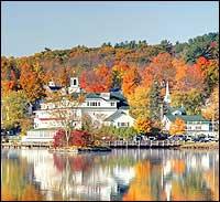 Beautiful Fall Foliage In New Hampshire