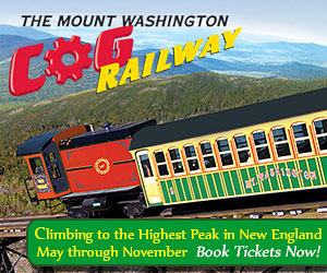 Climb NH's Mount Washington by train! The Mt. Washington Cog Railway