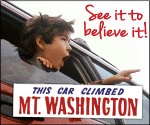 See It to Believe It! - Climb the Mt. Washington Auto Road!