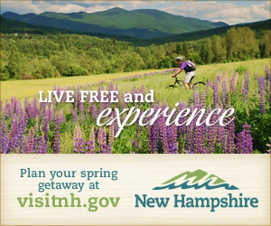 Live Free and Experience! Plan your Spring Getaway at VisitNH.gov. Click for more info.