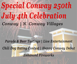 Special Conway 250th 4th of July Weekend Celebration - Click here for more details!