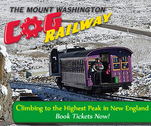 The Mt. Washington Cog Railway - Climbing the highest peak in New England this winter!
