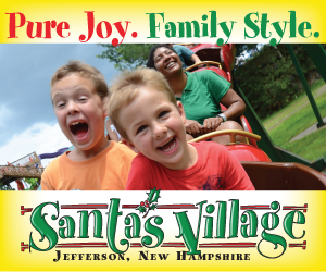 Santa's Village in Jefferson, NH - Pure Joy, Family Style! Open late May to Mid-December