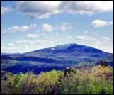 view if Mount Monadnock NH from Little Monadnock