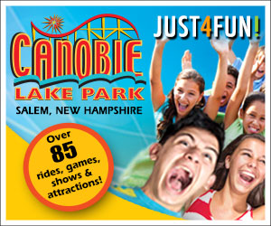 Just 4 Fun - Canobie Lake Park in Salem, NH! Over 85 Rides, Games, Shows & Attractions