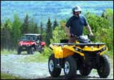 ATV trails in northern New Hampshire