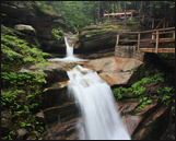 Sabbaday Falls off the Kancamagus Highway in NH