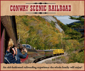 Conway Scenic Railroad - An old fashioned railroading experience the whole family will enjoy!