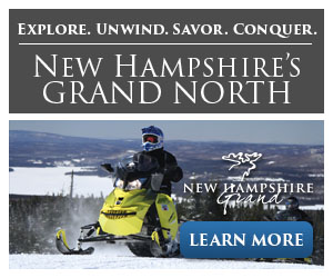 Feel Far Away, Be Close to Home! New Hampshire's Grand North - Click to learn more.