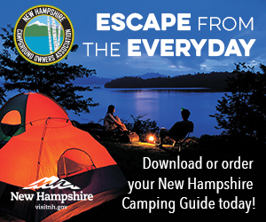 Escape from the Everyday - Download or order your New Hampshire Camping Guide today!
