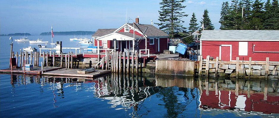 McLoons Lobster Shack, Spruce Head Island, Maine